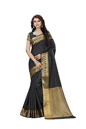 art silk sarees with zari border for women zari border saree chennai silks _ (Grey Sarees For Women saree with unstiched blouse)