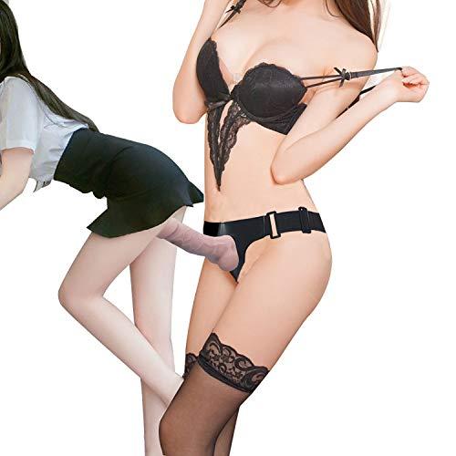 arable Elastic Panties Verstellbarer Gürtel Strapon Massage Zauberstab-Farbe Fleisch ()