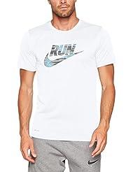 Nike M NK Dry Tee LGD Shirt, Herren
