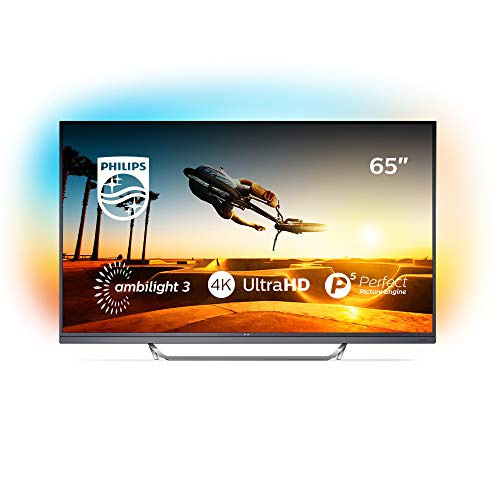 Philips Ambilight 65PUS7502/12 Fernseher 164 cm (65 Zoll) LED Smart TV (4K UHD, HDR Premium, Micro Dimming Pro, DTS Premium Sound, Android TV)