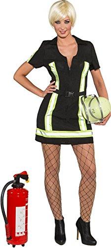 Orlob Damen Kostüm Feuerwehr Lady Feuerwehrfrau Karneval Fasching Gr.38 (Sexy Feuerwehr Frau Für Erwachsene Damen Kostüm)