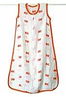 aden + anais Muslin Sleeping Bag, Mod About Baby (Fish, 6-12 Months)