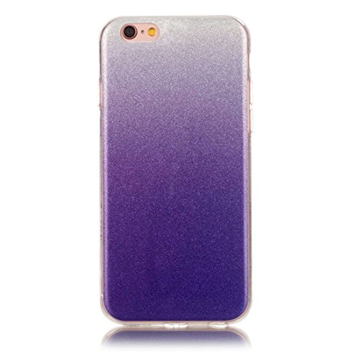 BING Für iPhone 6 / 6s, IMD Color Fades Glitter Powder TPU Schutzhülle BING ( SKU : IP6G8686F ) IP6G8686Q