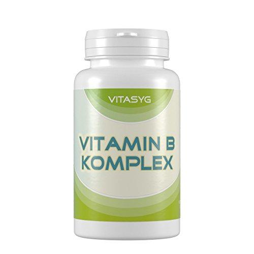Vitasyg Vitamin B Komplex - 365 Tabletten (Jahresvorrat), 1er Pack (1 x...
