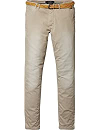 Scotch & Soda Herren Chino Hose sand