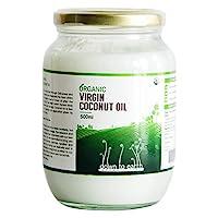Down To Earth Organic cold pressed Virgin Coconut Oil - 500 ml