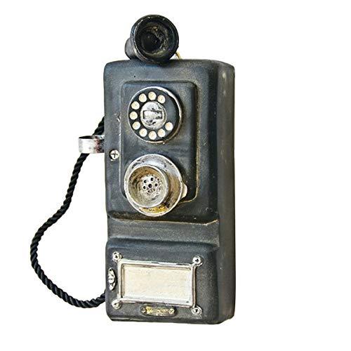 Cikuso Teléfono Vintage Montado En La Pared Artesanía
