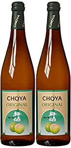 Choya Original Ume Plum Fortified Wine 75 cl (Case of 2)