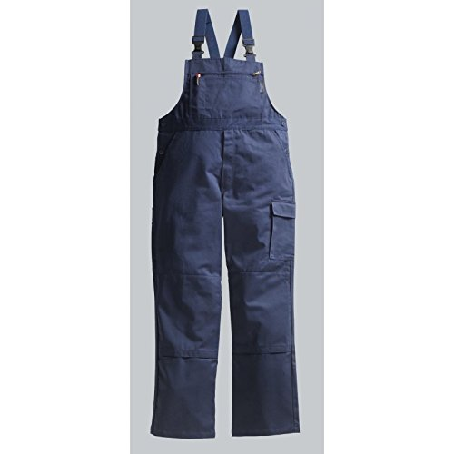 PIONIER WORKWEAR Herren Latzhose Cotton Pure in marineblau (Art.-Nr. 9491) marine,Größe 56