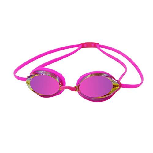 Floridivy BOIHON Männer Frauen Silikon Tasteless Trainingsbrille Erwachsene professionelle wasserdichte Anti-Fog-Rennen Racing Brille