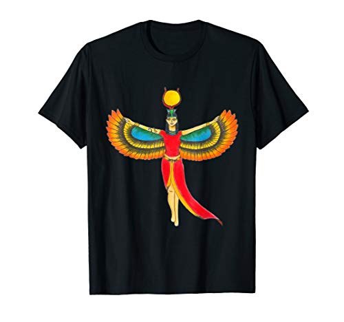 Grüne Kostüm Göttin - Königin-Pharao-Ägypten-Göttin Isis - ägyptisches Kostüm T-Shirt