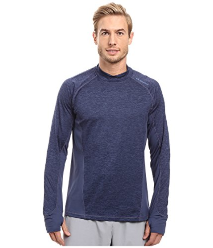 Dash Long Sleeve (Brooks Herren Laufshirt Dash Long Sleeve Blau - 210995-406 (Mittel))