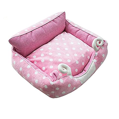 YIXIN Dog Cat Pet Bed / Mat Cute Sheep Styling Removable Clean Four Seasons sont disponibles Pink S / M / L ( taille : M )