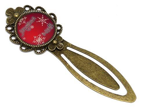 z Merry Christmas Dekoration Holiday Rot Flocke weiß Tanne Messing 20mm personalisierte Geschenke Weihnachten Geburtstag Herrin Gäste Muttertag Paar ()