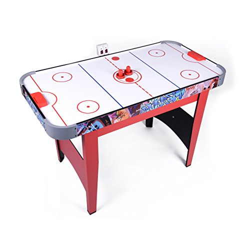 Win.max 4Ft Air Hockey Game Table with Electronic Scoring