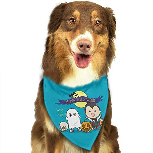 (Osmykqe Hundebandana-Haustier-Schal Halloween-Vampir-klassischer niedlicher Haustier-Hündchen-Bandana-Schal Lätzchen)