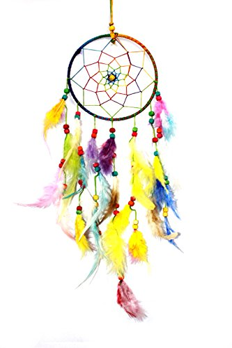 Odishabazaar Multicolored Dream Catcher Wall Hanging - Attract Positive Dreams
