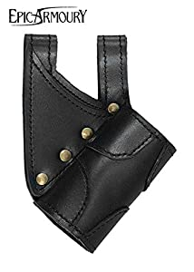 Epic Armoury- Elven Bag Black Bolsa, Color negro/negro (Iron Fortress 101653)