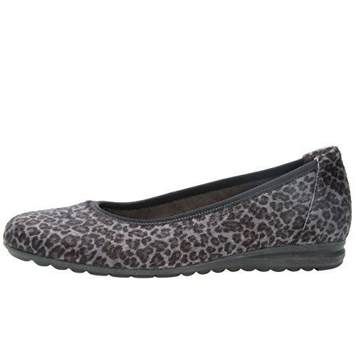 Gabor Splash, Ballerines femme Leopard Hi Tec