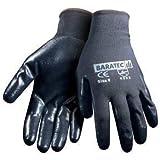 Baratec Nitrile Super Grip Glove Size 10/L - 12 Pairs