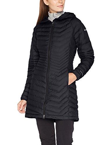 Columbia Damen Powder Lite Mid Outdoor Mantel, Black, L (Jacket Insulated Lite)