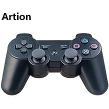 Artion Noir Bluetooth Sans Fil Game Contrôleur Pour Playstation 3 Replacement Pour PS3 Controller