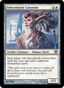 Magic: the Gathering - Ethersworn Canonist - Shards of Alara - Foil by Magic: the Gathering