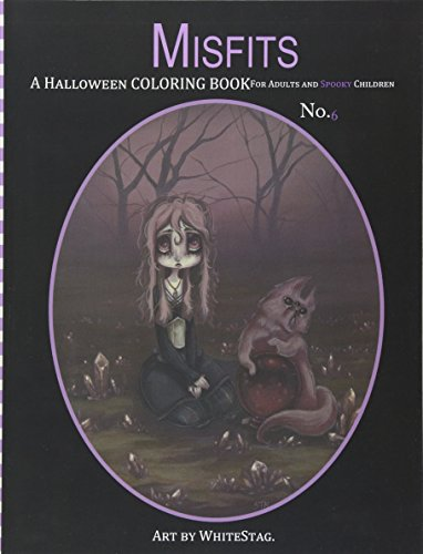 Coloring Book for Adults and Spooky Children: Witches, Bones, Cats, Ghosts, Zombies, teddy bear Serial Killers and MORE! ()