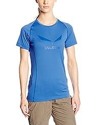 SALEWA Damen SOLIDLOGO DRY T-Shirt