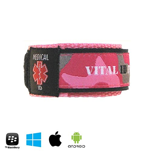medical-identity-bracelet-id-wristband-by-vital-id-with-smartphone-compatibility-labels-100-waterpro