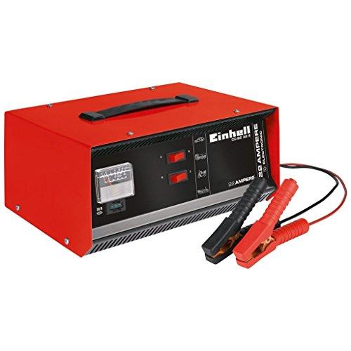 einhell batterie ladegeraet Einhell cc-BC 22E Akku-Ladegerät 230V Ladekabel 12V rot