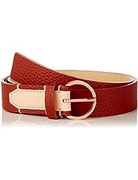 Womens Lizzy 908 Belt, Brown (Henna/Lingerie 908), 95 Calvin Klein