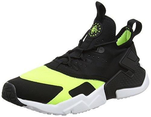 Nike Herren Huarache Run Drift (GS) Laufschuhe, Mehrfarbig (Volt/Black-White 700), 38.5 EU (Schuhe Jungs Huarache,)