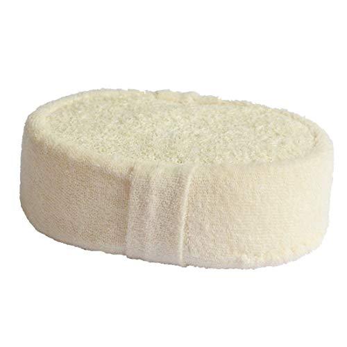 Esponja De Baño Esponja De Esponja Natural Para Frotar La Ducha De Cuerpo Entero Cepillo De Masaje Saludable Durable Y Fácil De Cuidar