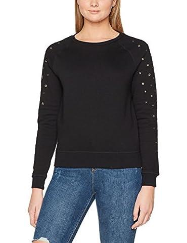 rich&royal Damen Sweatshirt 1708-227 Schwarz (Black 890), X-Large