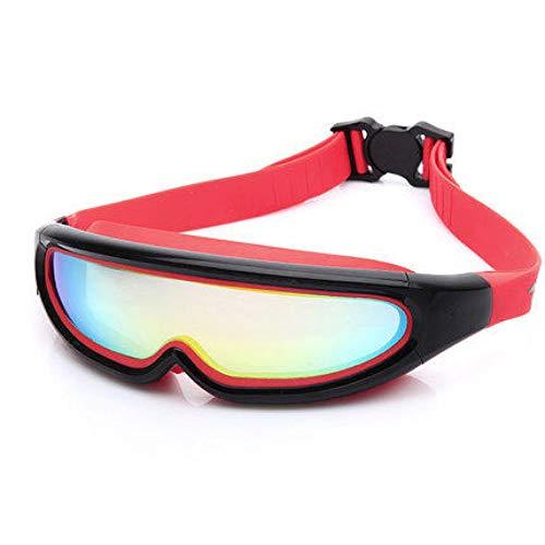 RSRZ Weiche Silikon-Schwimmen-Galvanisierte Gläser Imprägniern Schwimmen-Eyewear Für Mann-Frauen-Anti-Nebel-Schwimmen-Schutzbrillen