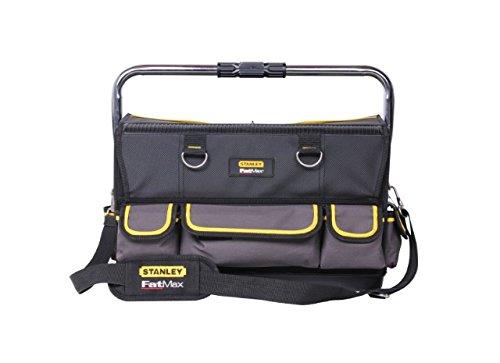Stanley FatMax Installateur-Werkzeugtasche, doppelseitge Öffnungsmöglichkeit, Schultergurt und Tragegriff, FMST1-70719