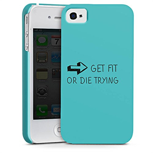 Apple iPhone X Silikon Hülle Case Schutzhülle Fitness Workout Motivation Premium Case glänzend