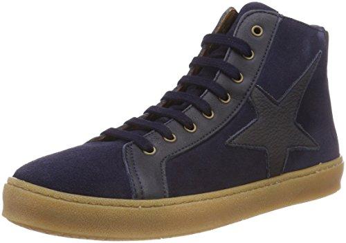 Bisgaard Unisex-Kinder 31814218 Hohe Sneaker, Blau (602 Blue Suede), 33 EU (Shoes Kinder-blue Suede)