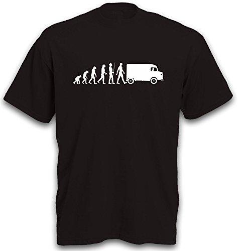 T-Shirt EVOLUTION Typ H HY HX, HW, HZ, 1600 Transporter Kleintransporter tshirt b&c S-XXL Schwarz