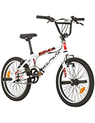 "BMX 20'' FREE STYLE "" SKULL / SPR "" AVEC ROTOR SYSTEM 360° - ROUES 48 RAYONS + 4 REPOSE PIEDS"