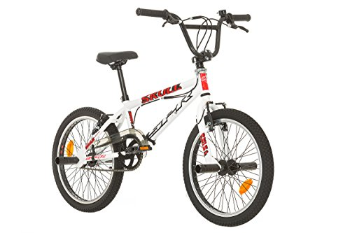 BMX 20'' Free Style Skull/SPR avec Rotor System 360° - Roues 48 Rayons + 4 Repose Pieds