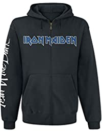 Iron Maiden Fear Of The Dark Sudadera capucha con cremallera Negro
