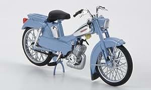 Motobecane AV88, bleu clair, 1976, voiture miniature, Miniature déjà montée, Norev 1:18