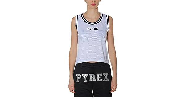 Femme MMainapps Pyrex Débardeur Taille Unique Blanc 0OPkwX8n