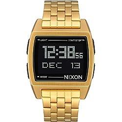Nixon Base - Reloj (Reloj de Pulsera, Masculino, Acero Inoxidable, Oro, Acero Inoxidable, Oro)