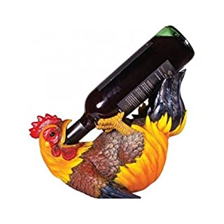Wine Bottle Holder Guzzler Cockerel