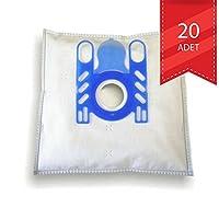 Arçelik - Arçelik S4120 Süpürgeye Uyumlu Microban Bez Torba (20 Adet)