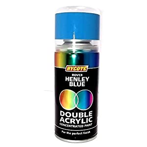 Hycote Double Acrylic Spray Paint Rover Henley Blue by Hycote