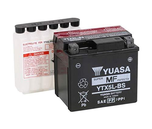Aprilia 50RS4/Yamaha 125TDR/230TTR/250WR F/YFM 90raptor-batterie Yuasa YTX5L-BS
